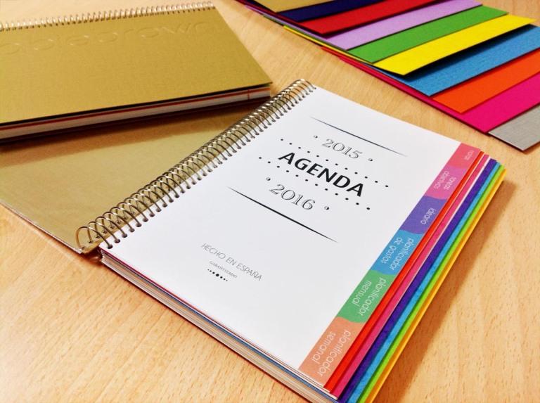 Organizador Personal con Agenda